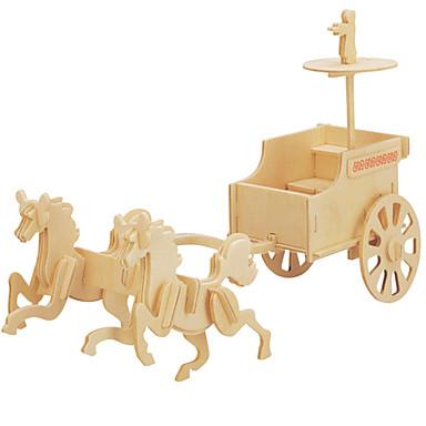 DIY Κιτ Παζλ 3D Παζλ Παιχνίδια λογικής και παζλ Αυτοκίνητα Παιχνιδιών Παιχνίδια Άμαξα Άρμα Ανδρικά Γυναικεία Παιδικό Δεν καθορίζεται Για