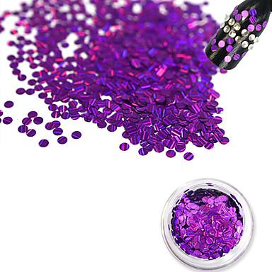 1 bottle Unghiul de bijuterii Glitter & Poudre Alte decoratiuni Glitters Modă Încântător shimmering Nuntă Calitate superioară Zilnic