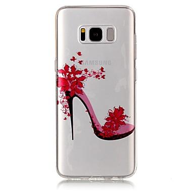 Kılıf Na Samsung Galaxy S8 Plus S8 IMD Przezroczyste Wzór Czarne etui Seksowna dziewczyna Miękkie TPU na S8 Plus S8 S7 edge S7 S6 edge S6
