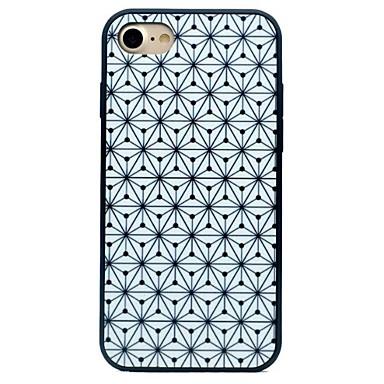 tok Για Apple iPhone 7 Plus iPhone 7 Ανθεκτική σε πτώσεις IMD Παγωμένη Πίσω Κάλυμμα Γεωμετρικά σχήματα Σκληρή PC για iPhone 7 Plus iPhone
