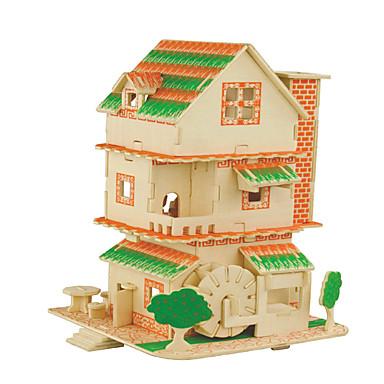 Kit Lucru Manual Puzzle 3D Puzzle Jucarii Pătrat Clădire celebru Arhitectura Chineză Casă Bărbați Pentru femei de Copil Dame Ne