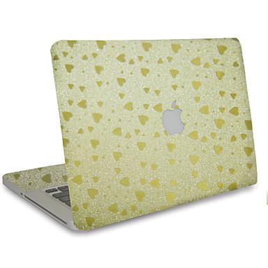 1 szt. Odporne na zadrapania Jeden kolor Przezroczysty plastik Naklejka na obudowę Połysk Wzorki NaMacBook Pro 15'' with Retina MacBook