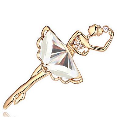 Damskie Broszki Biżuteria Spersonalizowane Unikalny euroamerykańskiej Kryształ Stop Biżuteria Biżuteria Na Impreza Codzienny Casual