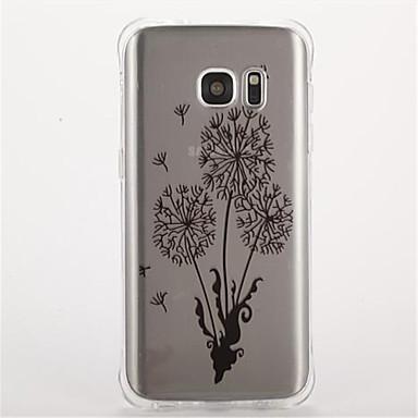 tok Για Samsung Galaxy S7 edge S7 Ανθεκτική σε πτώσεις Με σχέδια Πίσω Κάλυμμα Λουλούδι Μαλακή TPU για S7 edge S7 S6 S5