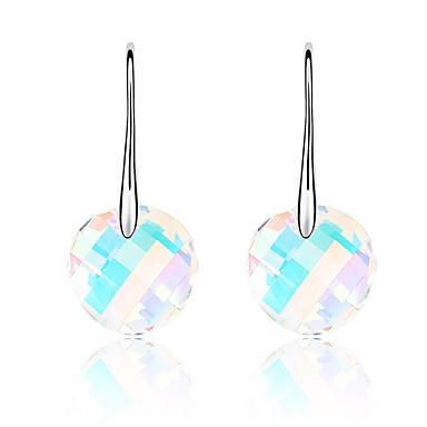 Damskie Kryształ Okragły euroamerykańskiej minimalistyczny styl Biżuteria Ślub Impreza Urodziny
