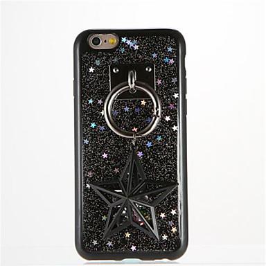 Için Kendin-Yap Pouzdro Arka Kılıf Pouzdro Glitter Parlatıcı Yumuşak TPU için AppleiPhone 7 Plus iPhone 7 iPhone 6s Plus iPhone 6 Plus