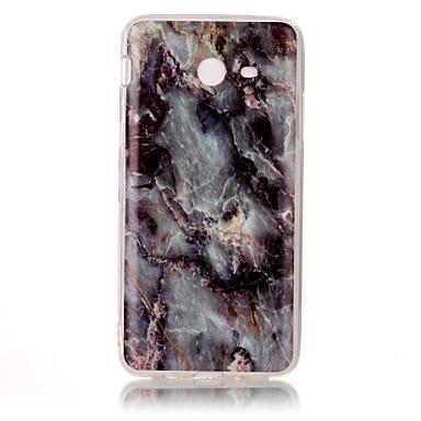 Etui Käyttötarkoitus Samsung Galaxy J7 Prime J5 Prime IMD Takakuori Marble Pehmeä TPU varten J7 Prime J5 Prime