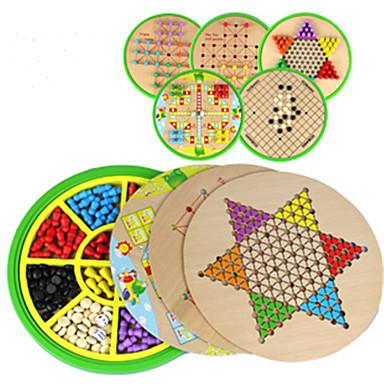 Επιτραπέζια παιχνίδια Παιχνίδι σκάκι Halma Παιχνίδια Κυκλικό Ξύλο Κομμάτια Παιδικά Γιούνισεξ Δώρο