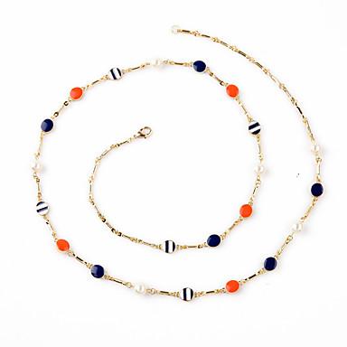 Damskie Łańcuszki na szyję Kryształ Circle Shape Unikalny Osobiste luksusowa biżuteria Rainbow Biżuteria Na 1szt