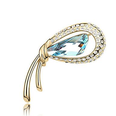 Damskie Broszki Biżuteria Spersonalizowane Unikalny euroamerykańskiej Syntetyczne kamienie szlachetne Stop Biżuteria Biżuteria Na Impreza