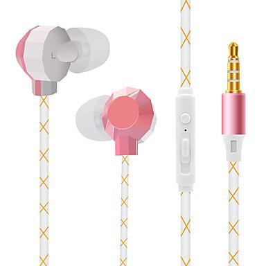 Iphone ve android telefonlar için kulak içi kulaklıkta jtx yüksek kalite ses kontrolü