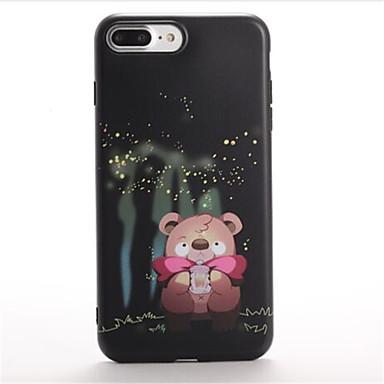 Varten Kuvio Etui Takakuori Etui Piirros Pehmeä TPU varten Apple iPhone 7 Plus iPhone 7