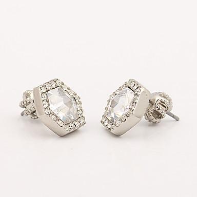 Damskie Kolczyki na sztyft Kryształ Spersonalizowane Unikalny euroamerykańskiej Biżuteria Na Ślub Impreza Urodziny