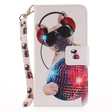 Etui Käyttötarkoitus iPhone 7 Plus iPhone 7 iPhone 6s Plus iPhone 6 Plus iPhone 6s iPhone 6 iPhone 5 Apple Korttikotelo Lomapkko Tuella