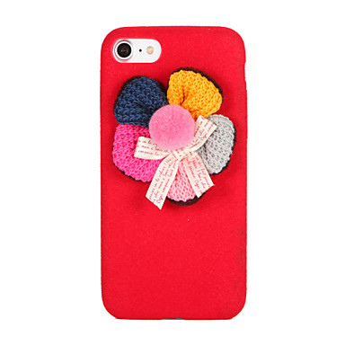 Na DIY Kılıf Etui na tył Kılıf Kwiat Miękkie Włókna na Apple iPhone 7 Plus iPhone 7 iPhone 6s Plus iPhone 6 Plus iPhone 6s iphone 6