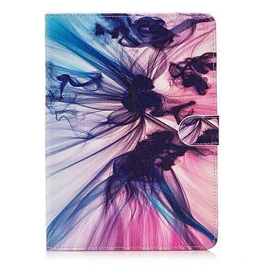 Varten Lomapkko Korttikotelo Tuella Flip Kuvio Etui Kokonaan peittävä Etui Liukuvärjätty Kova Tekonahka varten Apple iPad 4/3/2