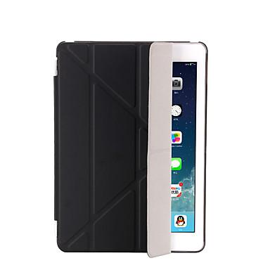 Кейс для Назначение Apple iPad Mini 4 iPad Mini 3/2/1 iPad 4/3/2 iPad Air 2 iPad Air со стендом С функцией автовывода из режима сна Флип