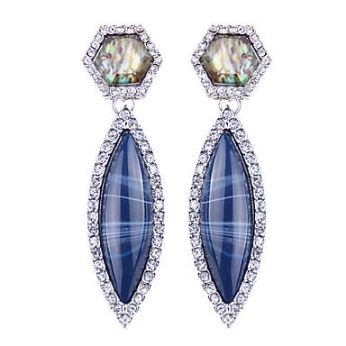 Kadın's Küpe Mücevher Moda Eski Tip Euramerican Değerli Taş Mücevher Mücevher Uyumluluk Düğün Parti Özel Anlar