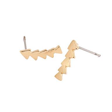 Naisten Niittikorvakorut Kristalli Geometrinen Muoti Euramerican minimalistisesta Korut Käyttötarkoitus Häät Party Syntymäpäivä