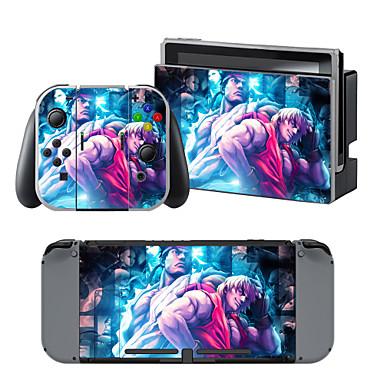 B-SKIN 任天堂 Switch/NS Acțibild Pentru Nintendo comutator,Vinil Acțibild Portabil / Novelty #