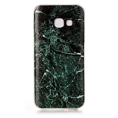 Kılıf Na Samsung Galaxy A5(2017) A3(2017) IMD Wzór Etui na tył Marmur Miękkie TPU na A3 (2017) A5 (2017)