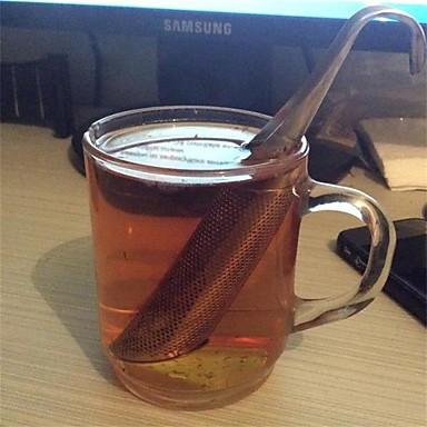 1pcs sitko niesamowite ze stali nierdzewnej herbaty nawilżacza rura projekt dotykowy dotknij dobrego herbaty narzędzie