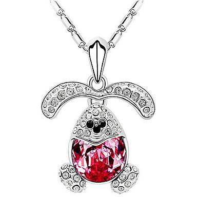 Damskie Naszyjniki z wisiorkami Kryształ Spersonalizowane Zwierzęta Modny euroamerykańskiej Biżuteria Na Ślub Impreza Urodziny