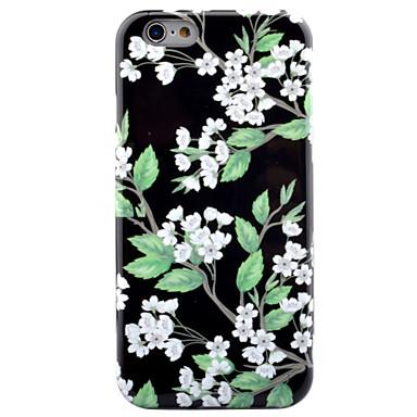 من أجل أغط / كفرات IMD نموذج غطاء خلفي غطاء زهور ناعم TPU إلى Apple فون 7 زائد فون 7 iPhone 6s Plus iPhone 6 Plus iPhone 6s أيفون 6