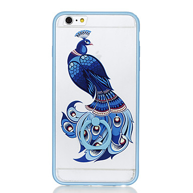 Için Yüzüklü Tutacak Şeffaf Temalı Pouzdro Arka Kılıf Pouzdro Hayvan Sert PC için Apple iPhone 6s Plus iPhone 6 Plus iPhone 6s iphone 6
