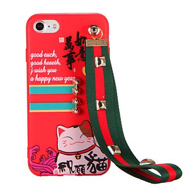 Varten Kuvio DIY Etui Takakuori Etui Kissa Pehmeä TPU varten Apple iPhone 7 Plus iPhone 7 iPhone 6s Plus iPhone 6 Plus iPhone 6s iPhone 6