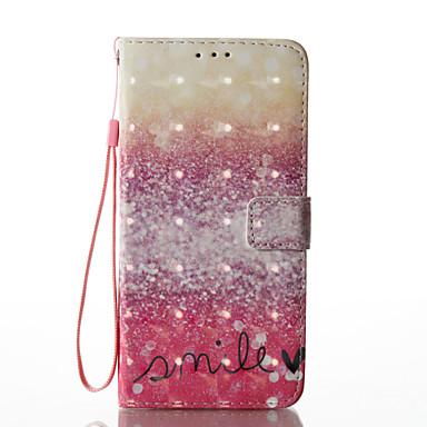 hoesje Voor Samsung Galaxy S8 Plus S8 Kaarthouder Portemonnee met standaard Flip Patroon Volledig hoesje Woord / tekst Hard PU-nahka voor