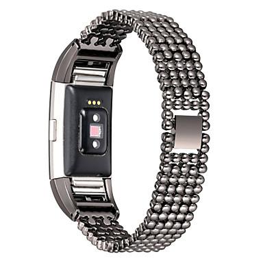 시계 밴드 용 Fitbit Charge 2 핏빗 모던 버클 메탈 / 스테인레스 스틸 손목 스트랩