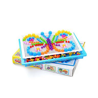 Yapboz Eğitici Oyuncak Mantar Kelebek Kendin-Yap Eğlence Klasik