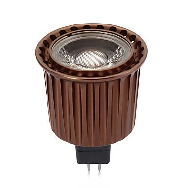 3W 240lm GU5.3(MR16) Żarówki punktowe LED MR16 1 Koraliki LED COB Dekoracyjna Ciepła biel Zimna biel 12V
