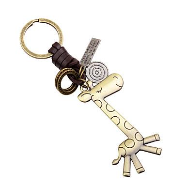 Brelok do kluczy Zabawki Brelok do kluczy Metal 1 Sztuk Dla obu płci Boże Narodzenie Walentynki Prezent