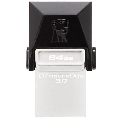 Kingston 64GB محرك فلاش USB قرص أوسب USB 3.0 USB مصغر معدن حجم مصغر