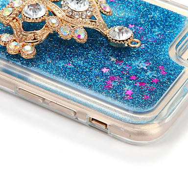 Custodia 05625973 diamantini Per Plus cascata iPhone Plus a Apple iPhone Morbido TPU iPhone 7 Per per Glitterato Fai retro 7 Liquido da 7 te Con rrSx8qwFd