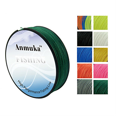 100m anmnka brand super strong japan multifilament pe for Best fishing line brand