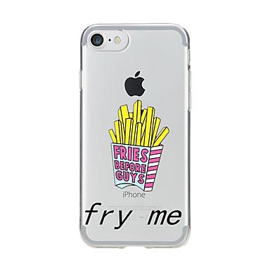 Για Διαφανής Με σχέδια tok Πίσω Κάλυμμα tok Κινούμενα σχέδια Μαλακή TPU για AppleiPhone 7 Plus iPhone 7 iPhone 6s Plus iPhone 6 Plus