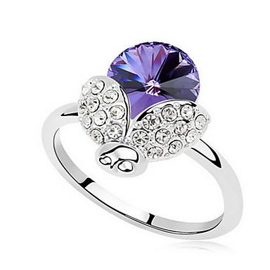 Damskie Pierscionek Biżuteria Podstawowy euroamerykańskiej Syntetyczne kamienie szlachetne Biżuteria Biżuteria Na Impreza Specjalne okazje