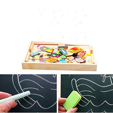 Çizim Oyuncağı Oyuncak Çizim Tabletleri Yapboz Eğitici Oyuncak Oyuncaklar Dörtgen Manyetik Çocukların Çocuklar için 1 Parçalar