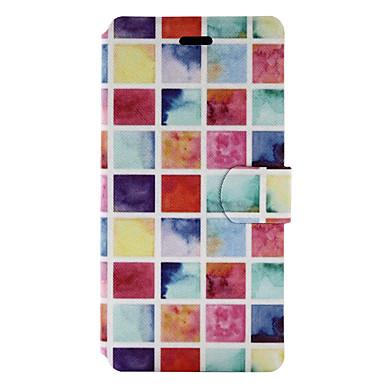 Na Etui na karty Z podpórką Flip Wzór Kılıf Futerał Kılıf Płytki Twarde Skóra PU na HuaweiHuawei P9 Lite Huawei P8 Lite Huawei P8 Lite