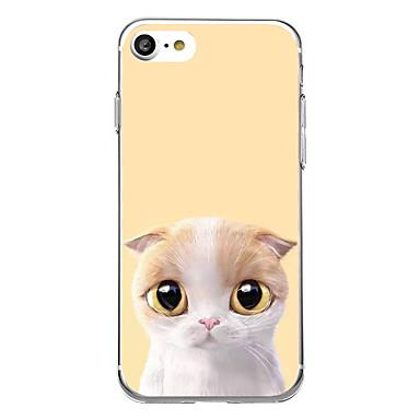 غطاء من أجل Apple نحيف جداً نموذج غطاء خلفي قطة ناعم TPU إلى iPhone 7 Plus iPhone 7 iPhone 6s Plus iPhone 6 Plus iPhone 6s iPhone 6