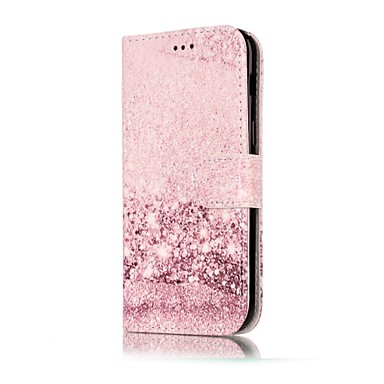 غطاء من أجل Samsung Galaxy A5(2017) A3(2017) محفظة حامل البطاقات مع حامل قلب نموذج مغناطيس كامل الجسم حجر كريم قاسي جلد اصطناعي إلى A3