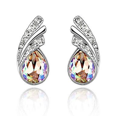 Damskie Kolczyki na sztyft Kryształ Serce Osobiste euroamerykańskiej minimalistyczny styl Biżuteria Na Ślub Impreza Urodziny