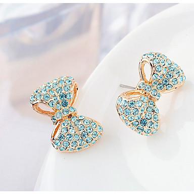 Pentru femei Cercei Stud Cristal Personalizat Design Unic Euramerican stil minimalist Bijuterii Pentru Nuntă Petrecere Zi de Naștere
