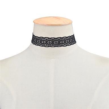 Damskie Geometric Shape Geometrické Modny euroamerykańskiej minimalistyczny styl Europejski Naszyjniki choker Biżuteria Koronka