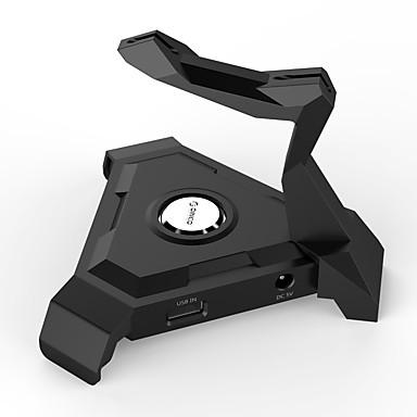 USB 3.0 göbek 4, bağlantı noktası USB tel mangement 2.0 göbek - siyah