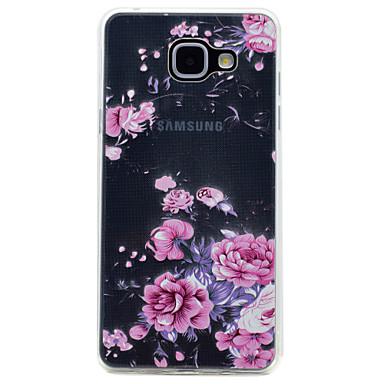غطاء من أجل Samsung Galaxy A5(2017) A3(2017) شفاف نموذج غطاء خلفي زهور ناعم TPU إلى A3 (2017) A5 (2017) A7 (2017) A5(2016) A3(2016)
