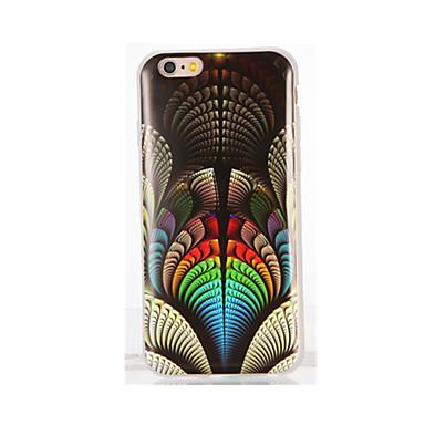 Pouzdro Uyumluluk iPhone 7 Plus iPhone 7 iPhone 6s Plus iPhone 6 Plus iPhone 6s iPhone 6 iPhone 5 Apple IMD Temalı Arka Kapak Renkli